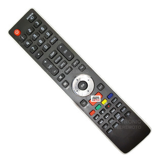 Control Remoto Er-33911 Smart Tv Netflix Bgh Hisense Philco