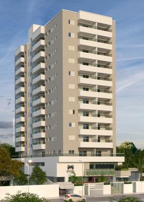 Apartamento No Litoral Sul Praia Grande Ref: Ec