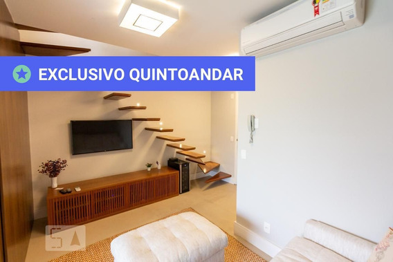 Apartamento No 14º Andar Com 1 Dormitório E 1 Garagem - Id: 892967162 - 267162