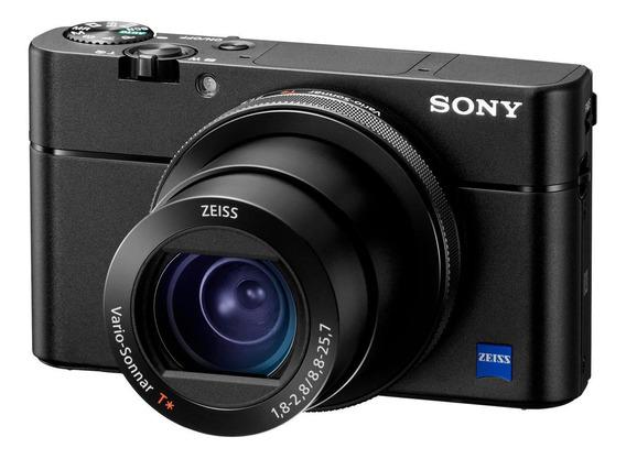 Sony Cyber-shot RX100 V compacta preta