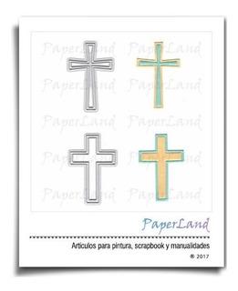 Suajes Cruces Cruz Para Sizzix Troquel #0895