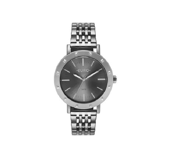 Relógio Euro Prata Feminino Lançamento Eu2035ypg/3k