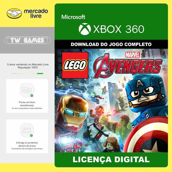 Lego Marvel Vingadores Avengers Xbox 360 Digital