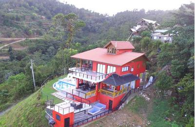 Villa De Lujo De 6 Habitaciones En Jarabacoa