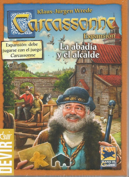 Jogo Expansao Carcassonne A Abadia E O Alcaide Bonellihq L18