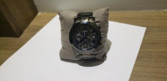 Relógio Guess Masculino Inox U0668gz Novo Na Caixa