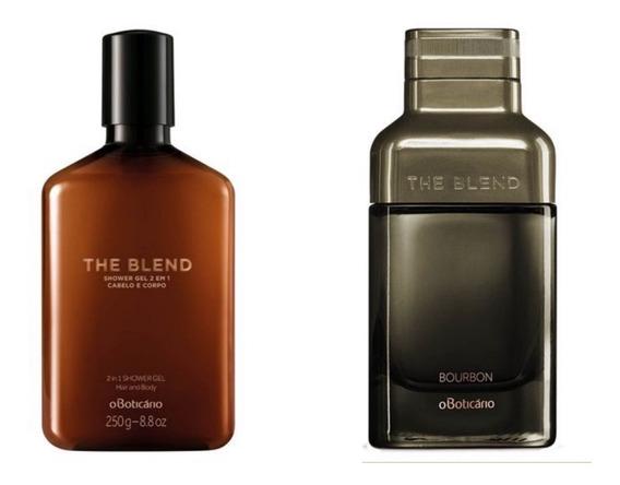 Kit The Blend Bourbon Eau De Parfum E Shower Gel Boticário