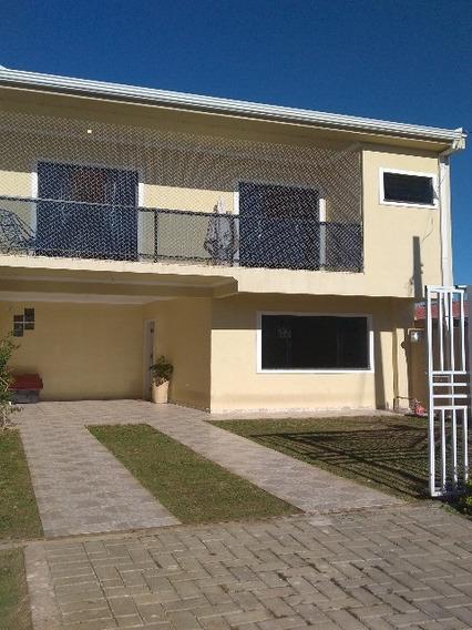 Excelente Sobrado Em Localização Privilegiada No Iguaçu. Com 3 Quartos, Sendo 1 Suíte Com Sacada, Sala Para 2 Amplos Ambientes , Cozinha Com Móveis Planejados, Lavabo, Banheiro So - S-583 - 4800472