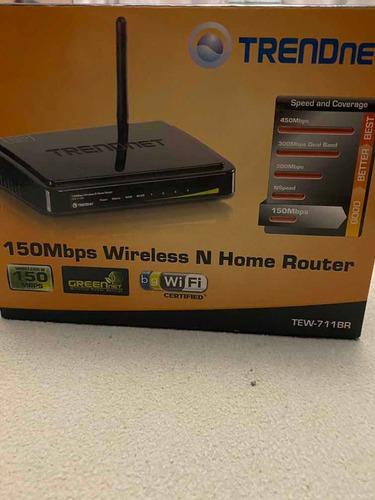 Router Inalámbrico Trendnet Tew711 Br