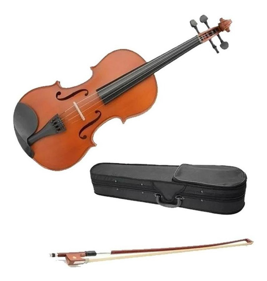 Violin Kinglos Hshb-000 4/4 Completo Estuche Resina Arco