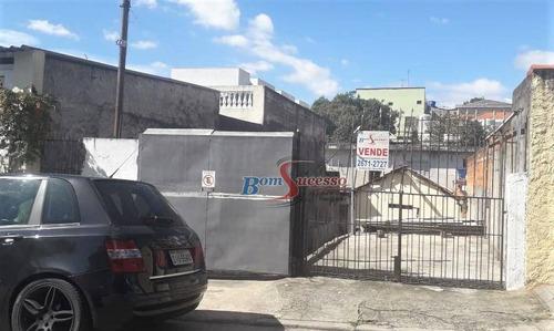 Imagem 1 de 3 de Terreno À Venda, 200 M² Por R$ 500.000,00 - Vila Invernada - São Paulo/sp - Te0353
