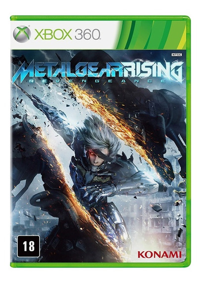 Metal Gear Rising Revengeance Jogo Xbox 360 Original
