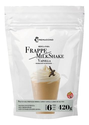 Frappe Milkshake Polvo Vainilla 420gr Cremuccino