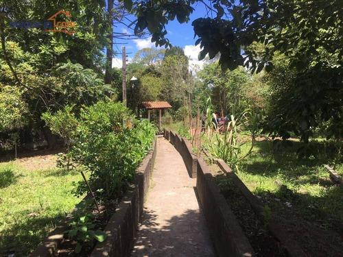 Chácara Com 2 Dormitórios À Venda, 1530 M² Por R$ 265.000,00 - Jardim Das Cerejeiras - Cotia/sp - Ch0178