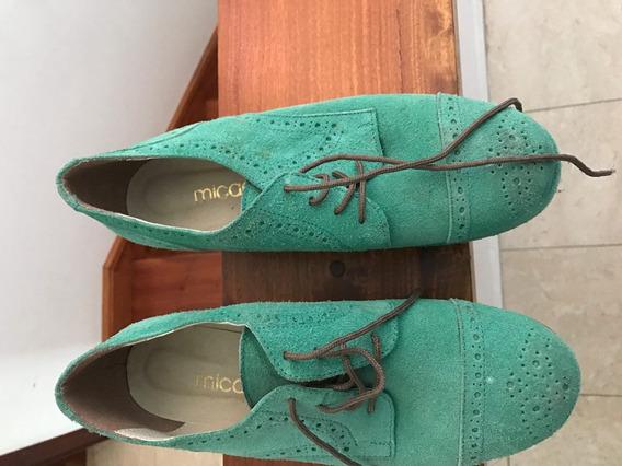 Zapatos Mujer Con Plataforma Tipo Botinetta