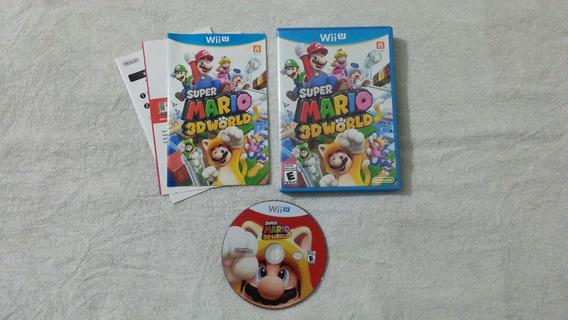 Super Mario 3d World Americano Para Wii U