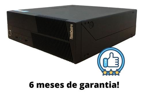 Imagem 1 de 3 de Cpu Pc Torre Lenovo I5 4gb Hd 250 Gb