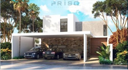 Casa Residencial En Privada En Temozon Norte Modelo B