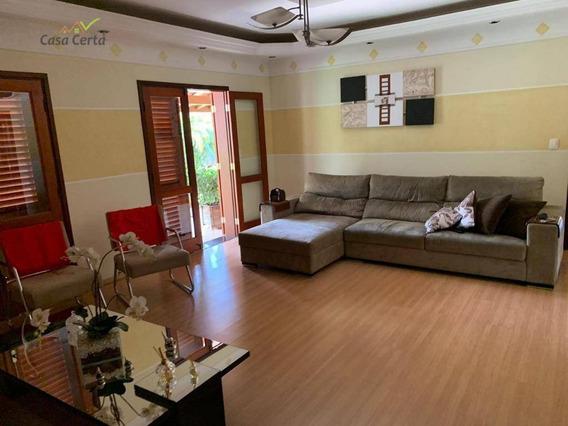 Chácara Com 4 Dormitórios À Venda, 2792 M² Por R$ 980.000 - Chácara São Marcelo - Mogi Mirim/sp - Ch0091
