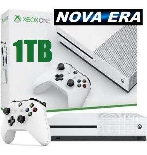Xbox One S Microsoft 1tb 02 Controles Garantia Nacional