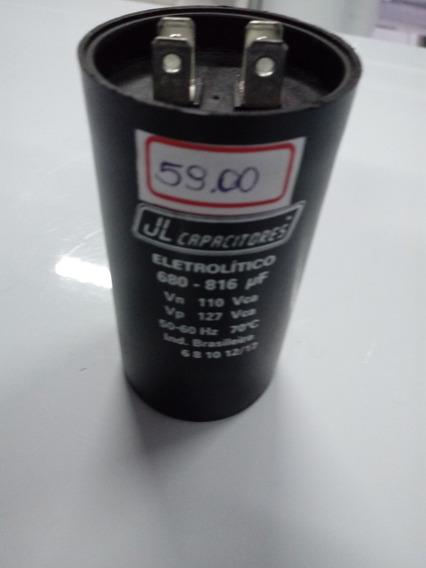 Capacitor Eletrolitico Ou Bobina. 680-816uf