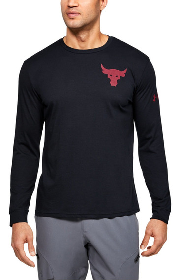 Remera Project Rock Hardset Worke Under Armour