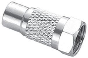 Plug Adaptador F P/ Jack Rca Pt1396