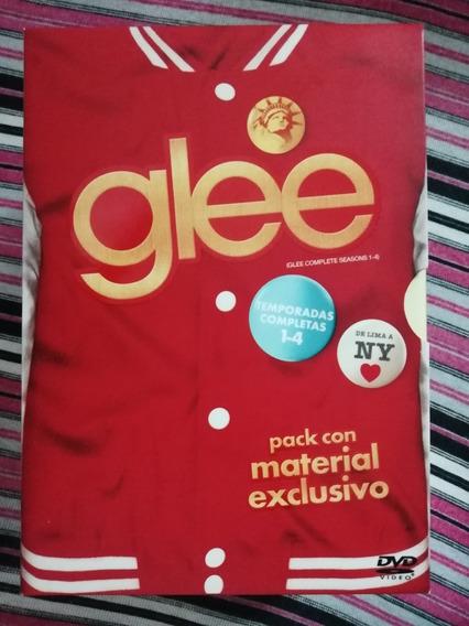 Glee Pack Temporadas 1-4 En Excelente Estado