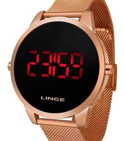 Relógio Lince Unissex Digital Rose Gold - Mdr4594l Pxrx