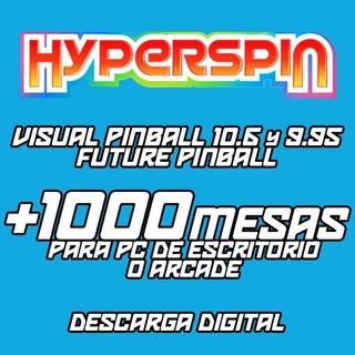 Juegos Flippers - Future Pinball Y Visual Pinball - Digital