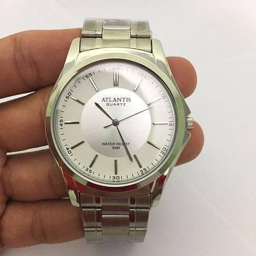 Relógio Prata Feminino Atlantis A3071