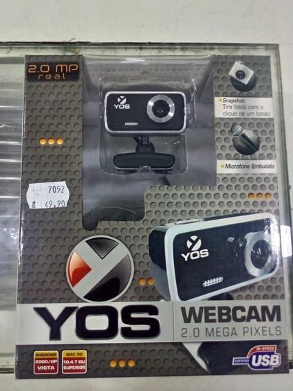 Lote Kit 10 Unidades Web Cam 2.0 Mega Pixels Yos