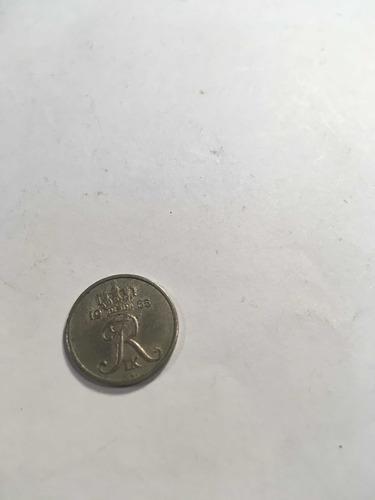 Moneda De Dinamarca 10 Ore Año1965