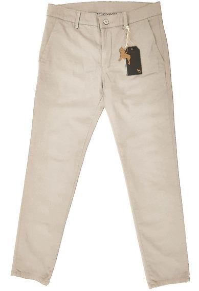 Pantalon Chino Con Elastano Slim | Bravo Jeans (16099)