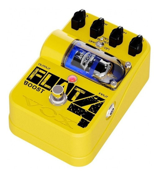Pedal Vox Tonegarage Flat 4 Boost Tg1 Valvulado. Novo!!