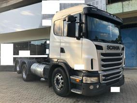Scania G420 6x2 Ano 2010/11 C/ Retarder Toda Revisada