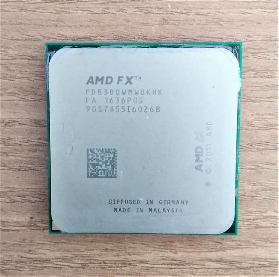 Processador Octacore Amd Fx 8300 Skt Am3+ 95w C/ Cooler