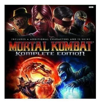 Mortal Kombat Complete Edition-pc-dvd(midia Fisica)