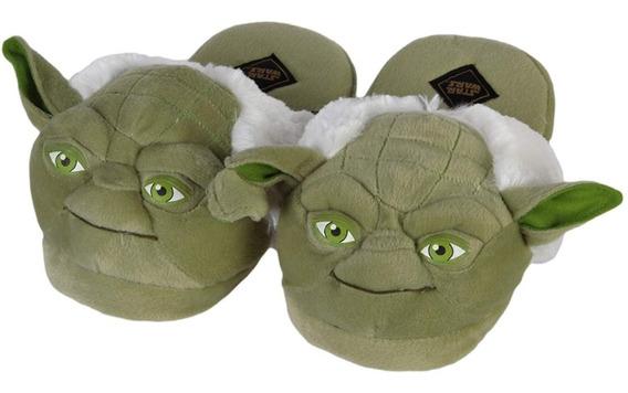 Pantunflas Para Adulto Unisex Star Wars Yoda