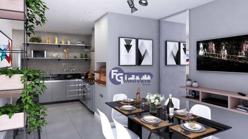 Apartamento À Venda, 56 M² Por R$ 218.900,00 - Centro - Araucária/pr - Ap0608