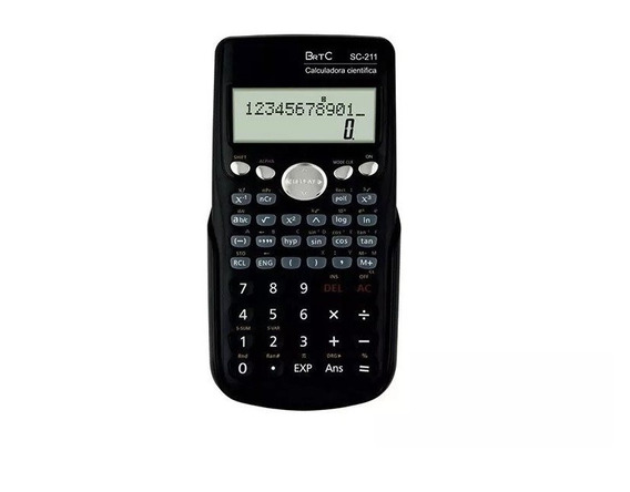 Calculadora Cientifica Brtc Sc-211 Matemática