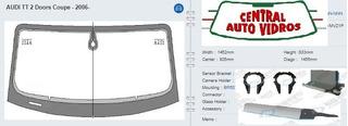 Vidro Parabrisa Audi Tt Coupe/conversivel 06-14 C/ Sensor Or