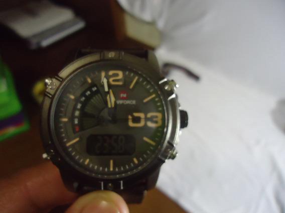 Relógio Naviforce Nf9095 - Marrom
