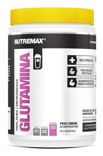 Glutamina Nutremax X 200gr