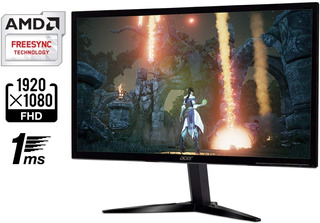 Acer Gaming Monitor 23.6 Pulg Kg241q 1920 X 1080 1ms