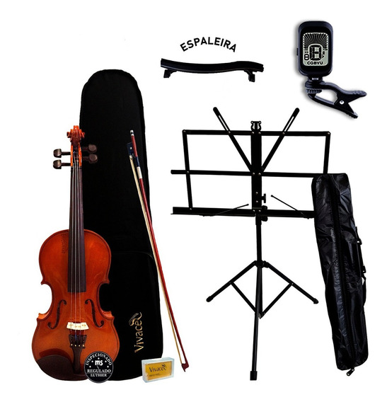 Violino Acústico 4/4 Vivace Mozart Mo44 + Kit Oferta!
