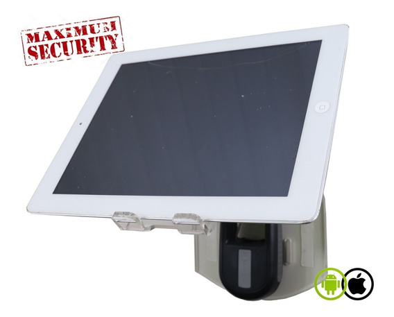 Suporte Para iPad/tablet De Parede Com Trava De Aço Delta01