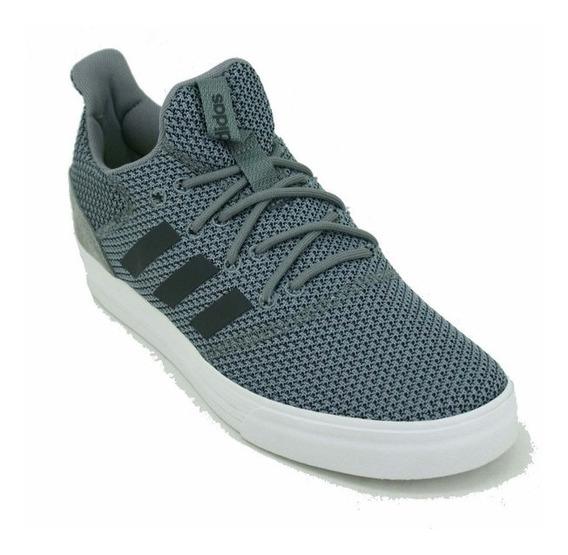 Zapatilla adidas True Street Gris/blanco Hombre Deporfan