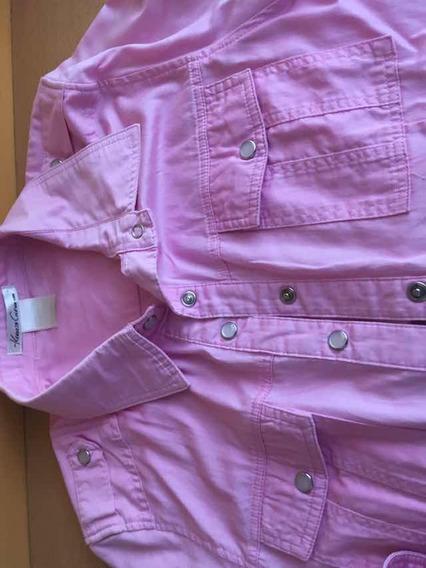 Camisa Rosa Manga Larga De New York