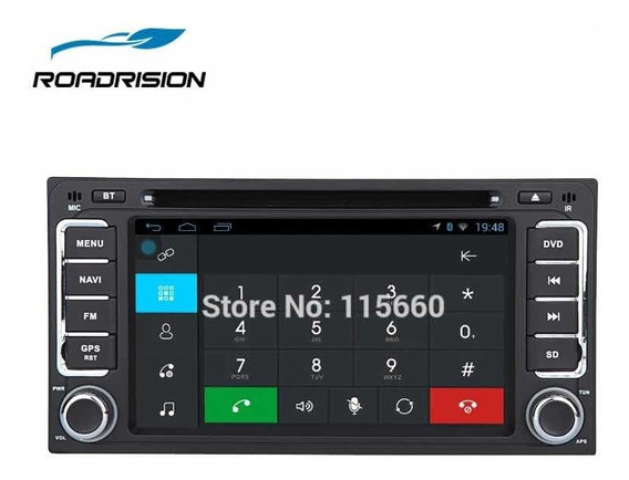 Stereo Dvd Multimedia Toyota Hilux Gps, Usb, Android !!!